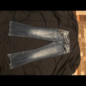 Miss me jeans size 26 easy boot inseam 29